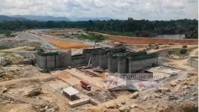 Photo de Livraison incertaine du barrage hydroélectrique de Memve'ele en 2017