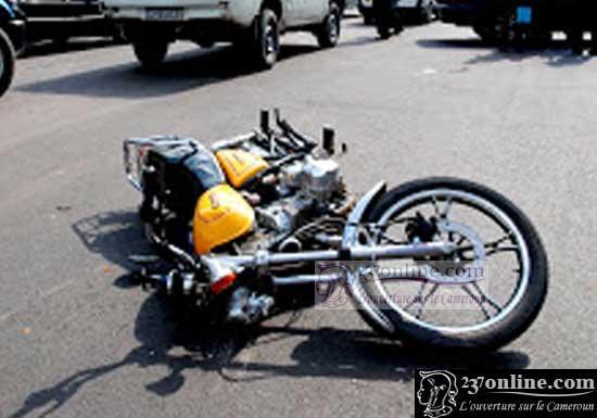 Un accident de Moto