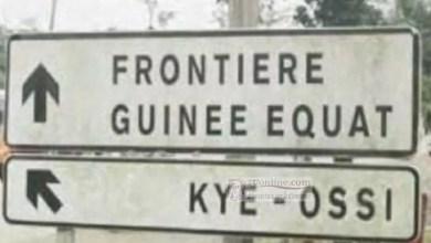 Frontiere avec la guinnée Equatoriale