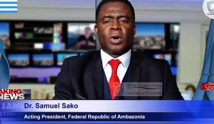 Sako le presidentd e l'Ambazonie