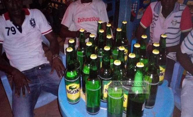 Buveurs d'alcool