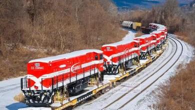 Photo of CAMRAIL réceptionne cinq nouvelles locomotives au Port de Douala
