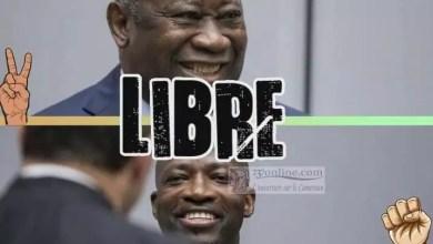 Photo of Laurent Gbagbo et Charles Blé Goudé quittent la prison