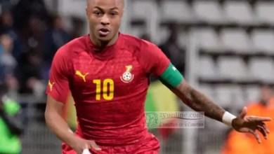 Photo of André Ayew nommé capitaine des Black Stars du Ghana
