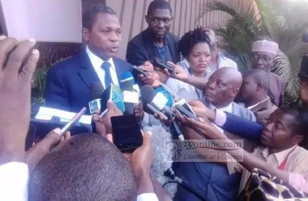 Atanga Nji revient sur séjour du Premier Ministre à Bamenda