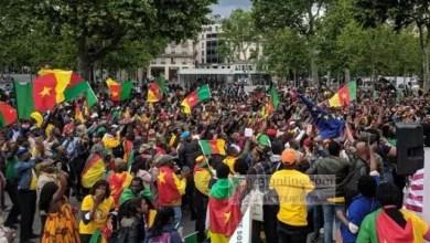 Photo de Vidéo : Marche géante à Paris contre le pouvoir de Paul Biya