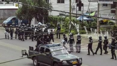 Patruille de police a bamenda