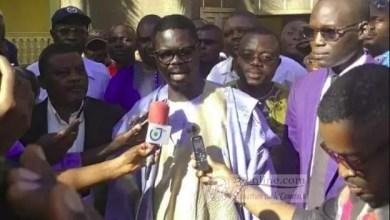 Photo of Marches du MRC : Mamadou Mota, premier vice-président aux arrêts