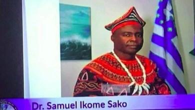 Photo of Acteurs du dialogue inclusif: Samuel Sako, le nouvel homme fort de l'Ambazonie
