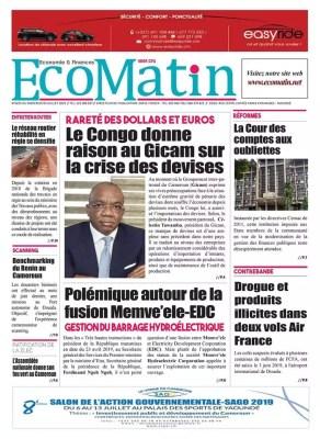 Eco Matin du 03 juillet 2019