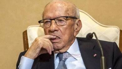 Photo of Tunisie: Décès du président Béji Caïd Essebsi à l'âge de 92 ans