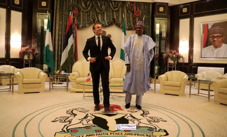 Macron et Buhari