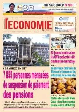 economie du 16 janvier 2020