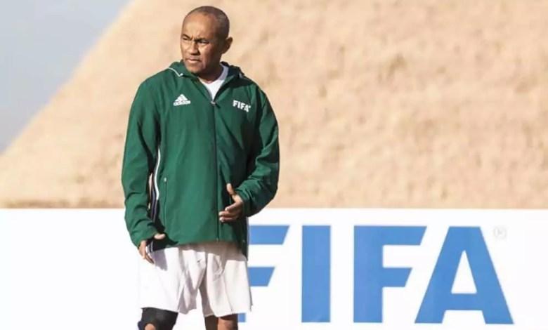 Président de la CAF Ahmad Ahmad