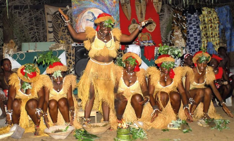 Ceremonie chez les betis