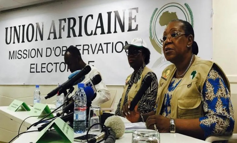 union africaine elections observers