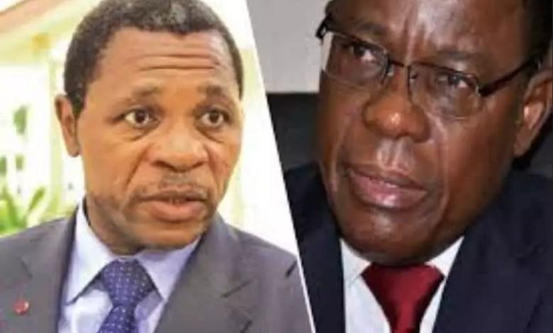 Atanga Nji et Maurice Kamto