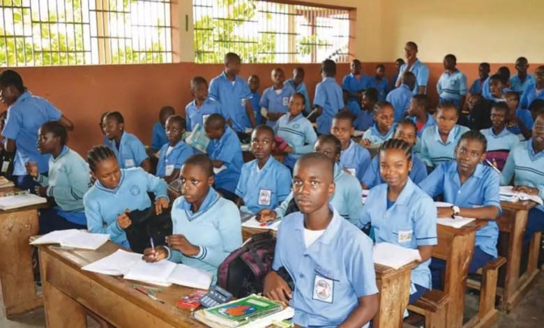Des élèves en classe