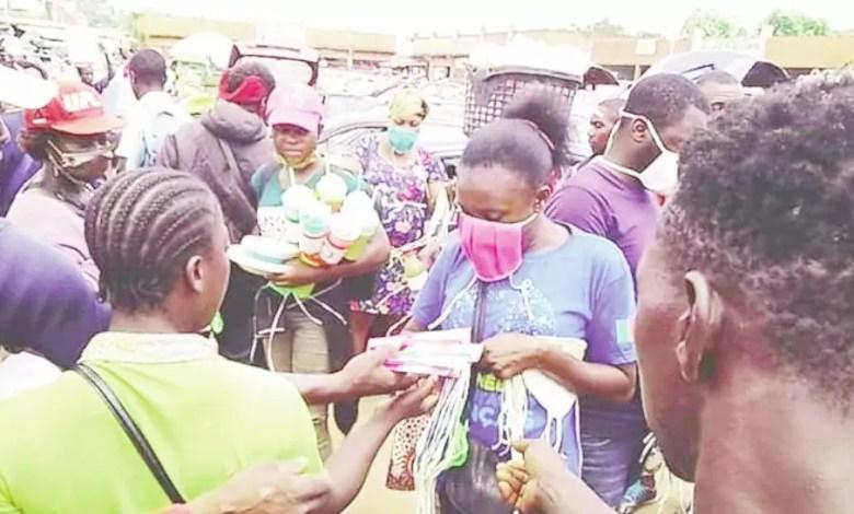 Distribution des produits contre le coronavirus