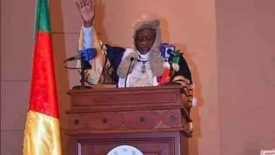 Joseph Owona serment au Conseil constitutionnel