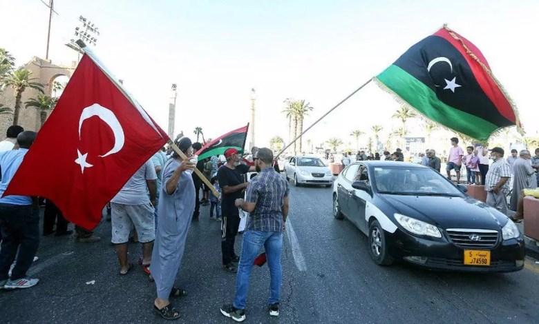 la Turquie a colonisé la Libye