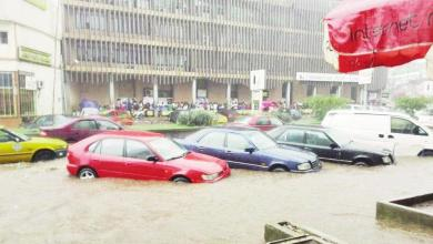 Avenue Kennedy inondée