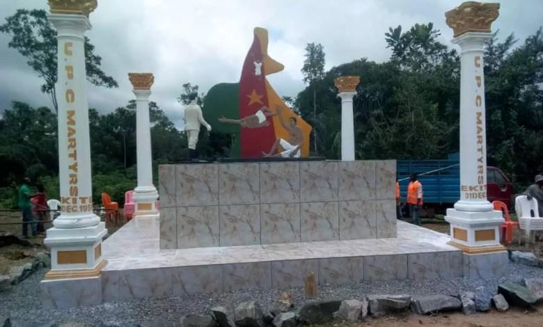 Monument des martyrs à Edéa
