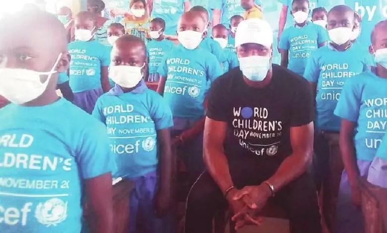 Fabrice Ondoua et UNICEF