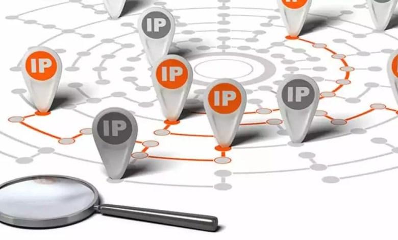 Recherche d'une adresse IP
