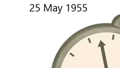 25 mai 1955