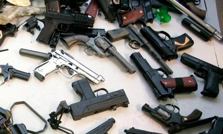 Pistolets automatiques