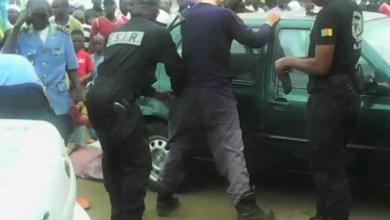 Fouille policiere