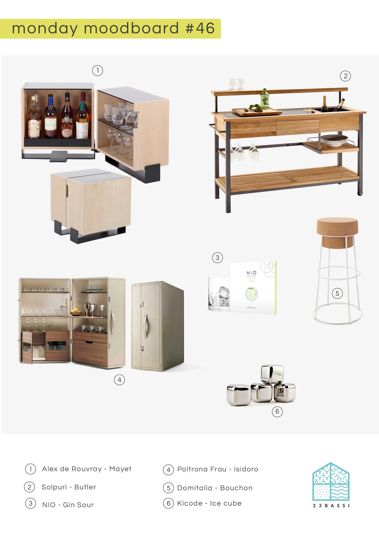 Stai pensando di rinnovare la tua cucina? Monday Moodboard 46 Come Organizzare Un Angolo Bar In Casa