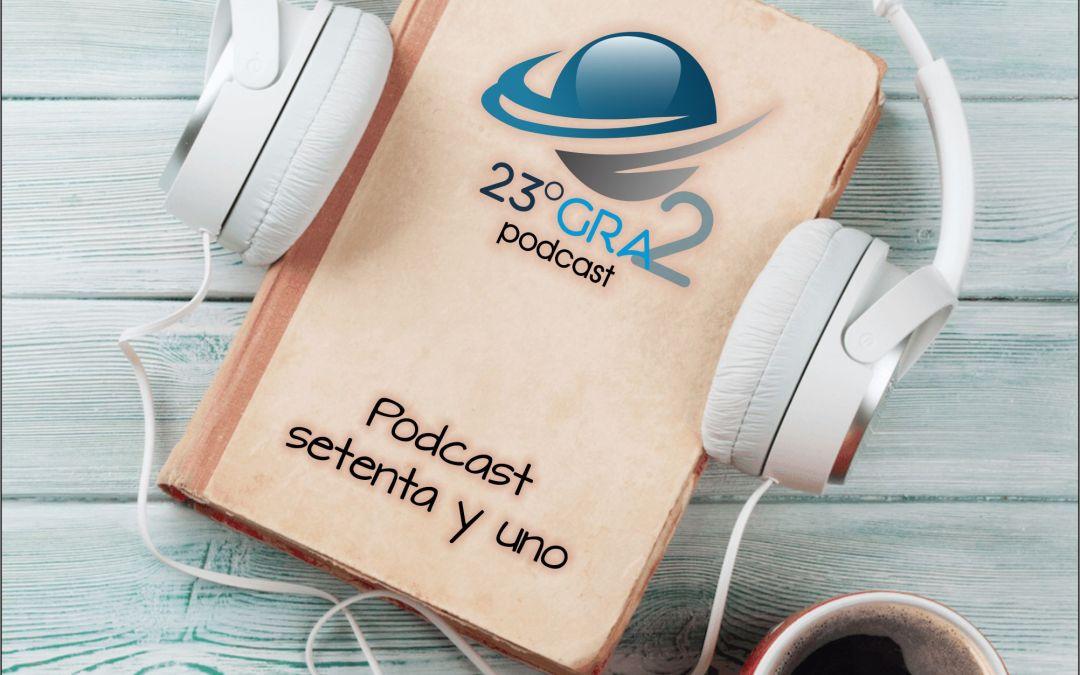 Podcast 071 – Especial Tercer Aniversario – 23gra2