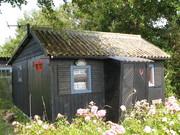 Hyttefadet, et bette sommerskur på Lindøhoved