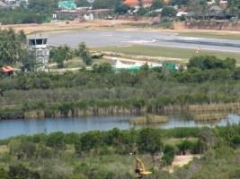 Verunfallte Bangkok Air ATR-72 HS-PGL