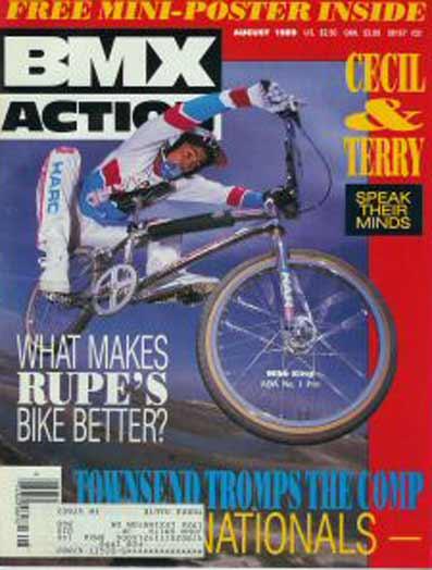 BMX ACTION MAGAZINE 1989  23MAG BMX