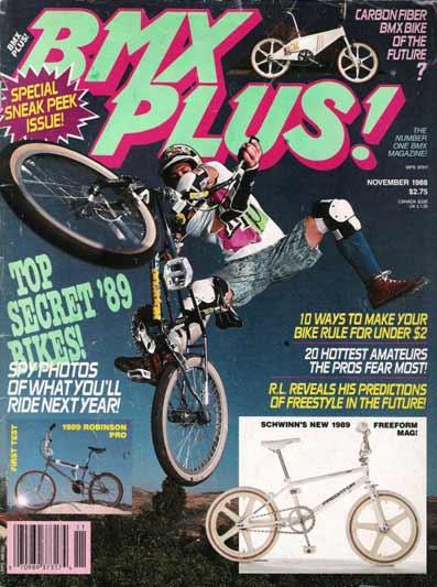 BMX PLUS MAGAZINE 1988  23MAG BMX