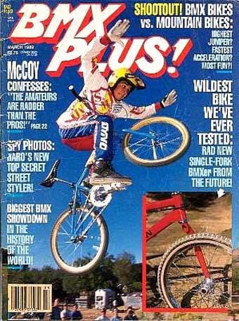 BMX PLUS MAGAZINE 1989  23MAG BMX
