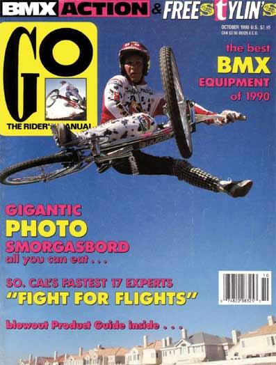 GO BMX MAGAZINE 19891990  23MAG BMX