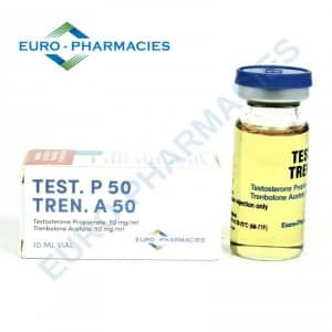 Test P. 50 / Tren A. 50 Euro-Pharmacies 10ml vial [100mg/1ml]