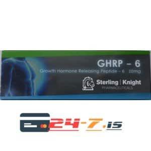 GHRP - 6 Sterling Knight 1 vial [20mg]