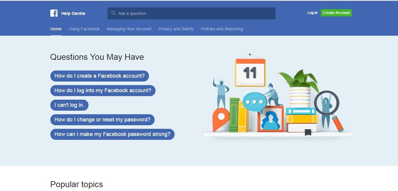 Facebook Customer Service