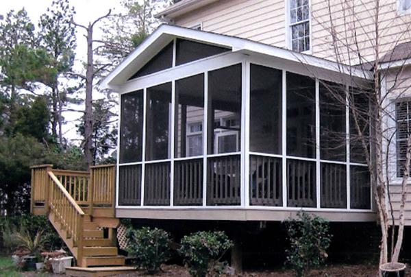 porch conversions and patio enclosures