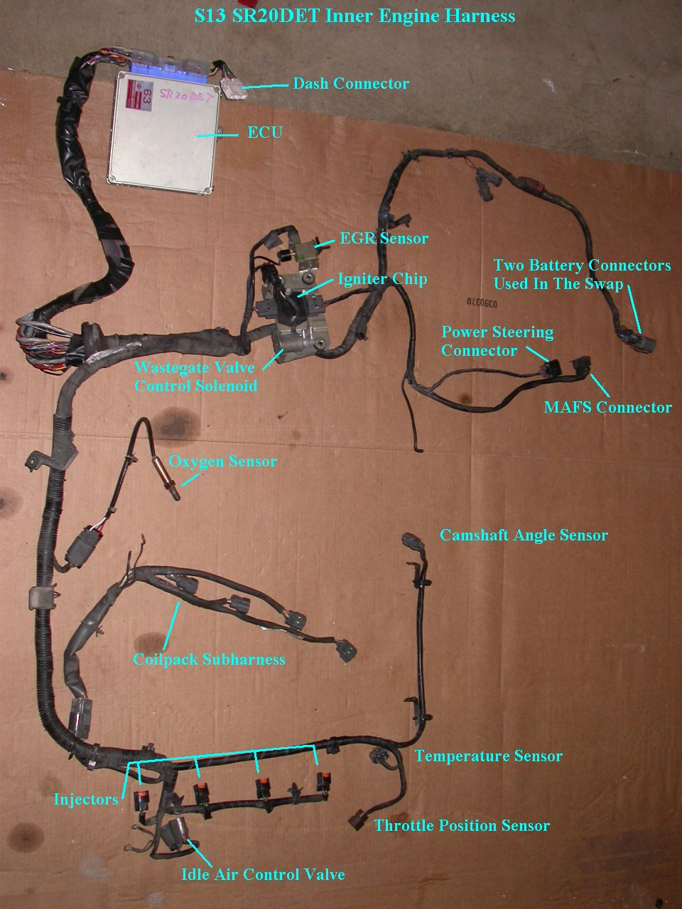 Nissan Engine Wiring Harness Likewise 240sx Engine Wiring Harness In