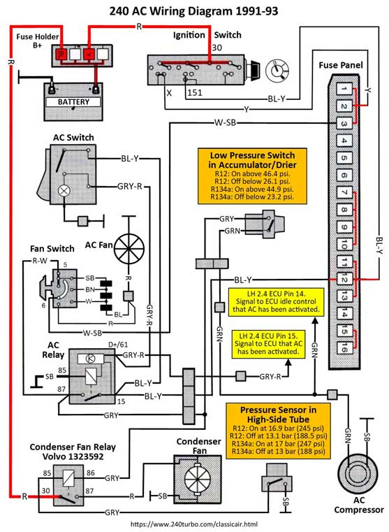 Wiring Diagram Ac York, York Wiring Diagrams