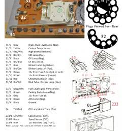 here s a diagram showing the pin outs for the 1993 240 instrument cluster this cluster uses an electronic speedometer  [ 1147 x 1525 Pixel ]