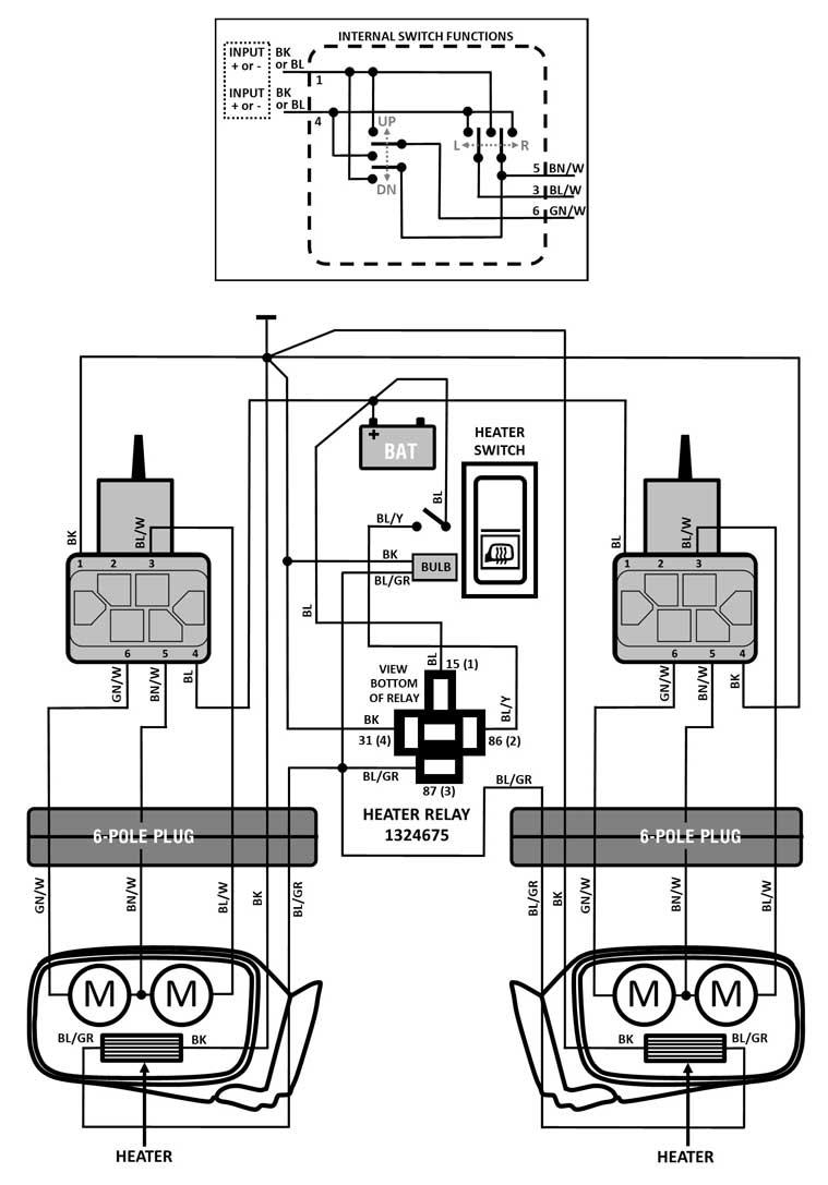 Volvo 240 Power Mirror Wiring Information