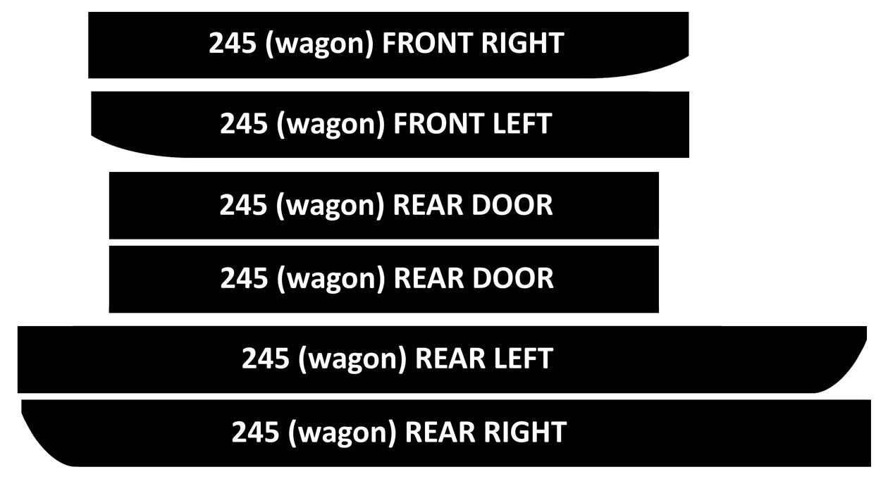 hight resolution of 240 new door vinyl kits