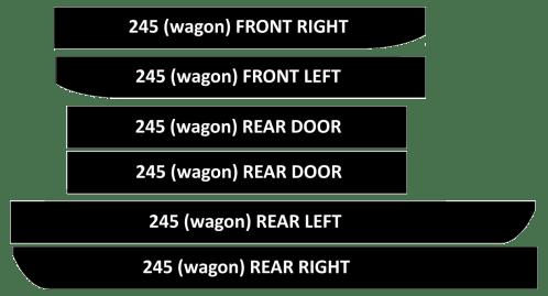 small resolution of 240 new door vinyl kits